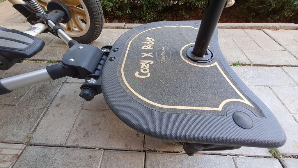 Платформа к коляске 2в1 + ручка удлиннитель