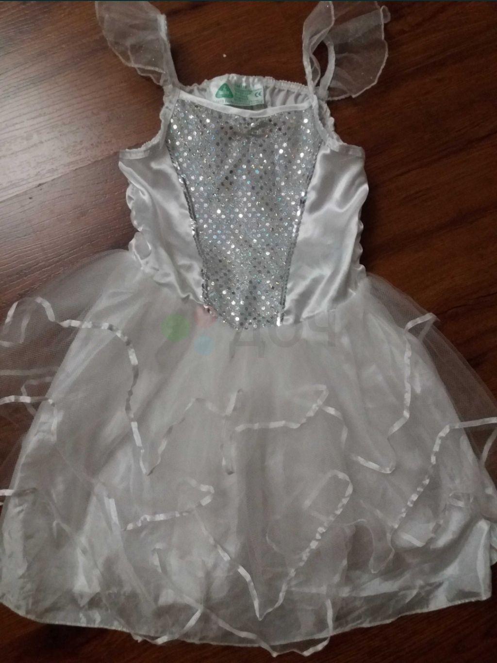 Платье снежинки на новый год